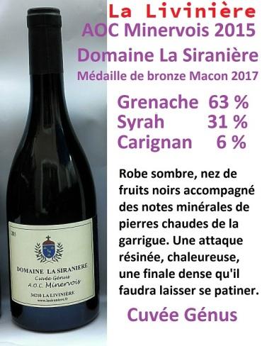 Cuvee Génus 2015 La Siraniere