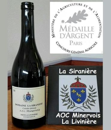 La Siranière Cuvée Génus 2015